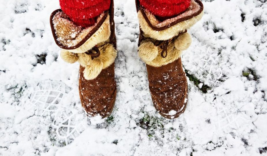 Vacances d'hiver : Emporter les bonnes chaussures